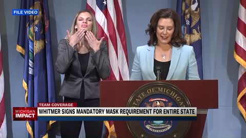 Whitmer signs mandatory mask order for Michigan